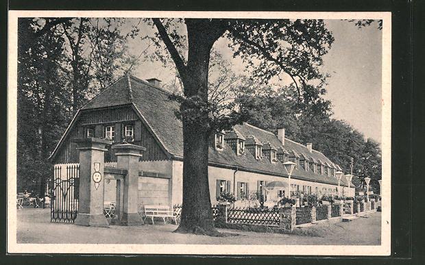 AK Moritzburg, Gasthaus Churfürstliche Waldschänke Nr. 7682923 ...
