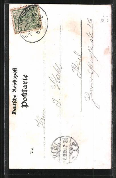 AK Lockstedter Lager, Wache, Walderseestein 1