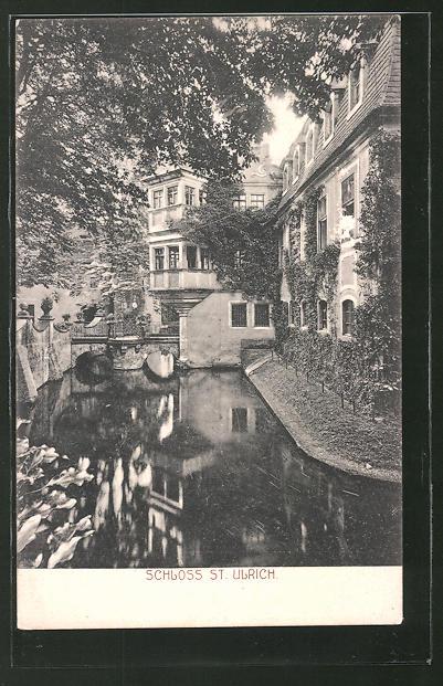 AK St. Ulrich, Partie am Schloss 0