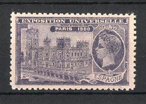 Reklamemarke Paris, Exposition Universelle 1900, Espagne
