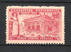 Reklamemarke Paris, Exposition Universelle 1900, Rue de Paris