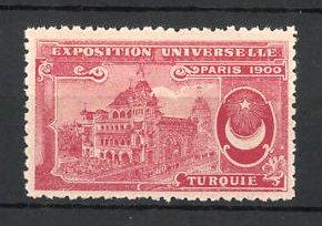 Reklamemarke Paris, Exposition Universelle 1900, Turqouie