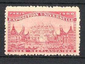 Reklamemarke Paris, Exposition Universelle 1900, Indes Neerlandaises 0