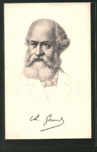 Künstler-AK Charles Gounod, Komponist von Oratorien und Opern