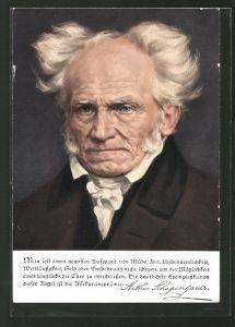 AK Deutsche Männer - deutsche Worte, Schopenhauer, Philosoph
