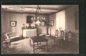 AK Soleilmont, Pensionnat des Dames Bernardines, Salle de récepcion