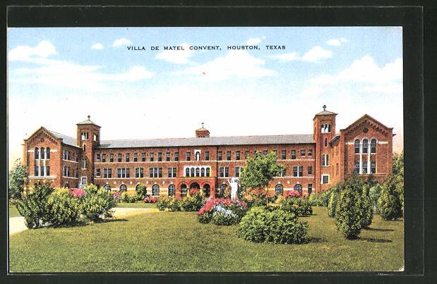 Ansichtskarten aus nordamerika kaufen und verkaufen - Villa de matel houston tx ...