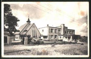 AK Lummen, St. Ferdinandinstituut, Kapel en Hoofdgebouw
