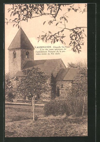 AK Auderghem, Chapelle Ste-Anne, l'un des rares specimens de l'architecture Romane