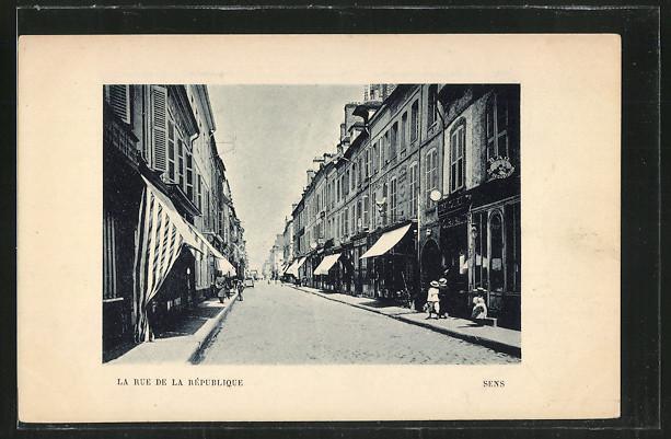 AK Sens, La Rue de la Republique