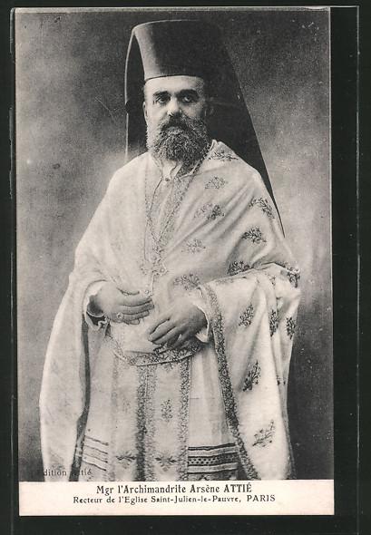 AK Paris, Recteur de l'Eglise Saint-Julien-le-Pauvre