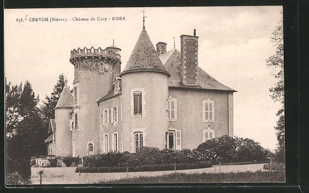 AK Cervon, Château de Cuzy