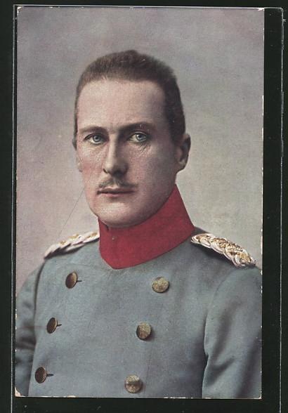 AK Porträt Herzog Albrecht von Württemberg in Uniform