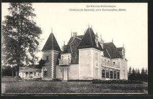 AK Bretoncelles, le château de Saussay