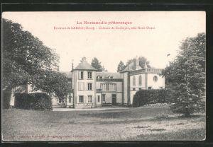 AK Laigle, le château de Corboyer, côté nord-ouest