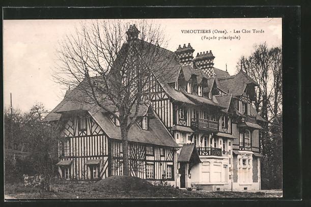 AK Vimoutiers, les clos tords, facade principale