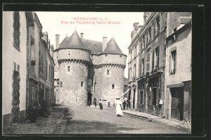 AK Guérande, rue du Faubourg Saint-Michel