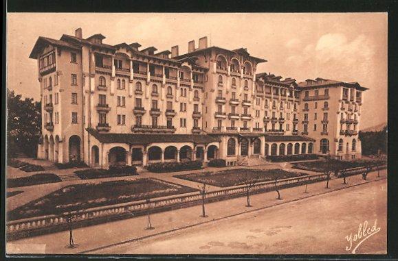 AK Hendaye, hôtel Eskualduna
