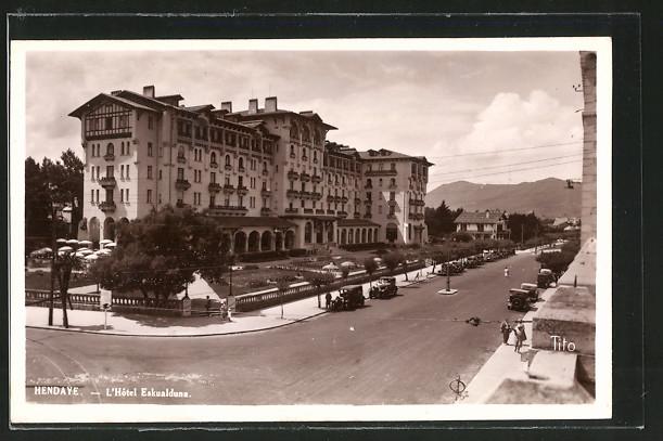 AK Hendaye, l'hôtel Eskualduna