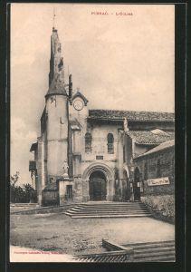 AK Pibrac, l'église