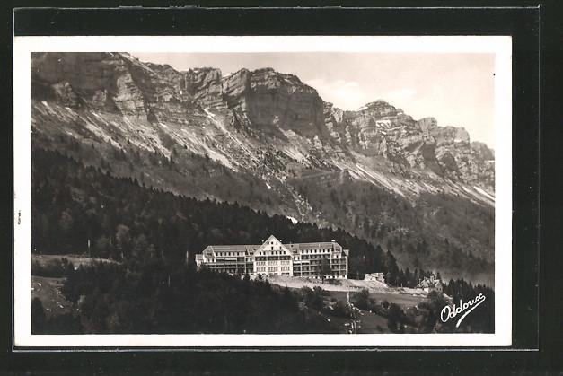 AK Petites Roches, plateau de Petites Roches, sanatorium