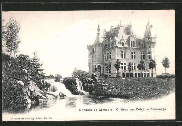 AK Sassenage, château des Côtes de Sassenage