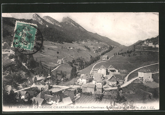 AK St-Pierre-de-Chartreuse, le grand Som, massif de la grande Chartreuse