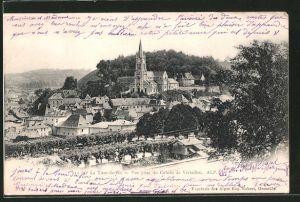AK La Tour-du-Pin, vue prise du Coteau de Vertailleu