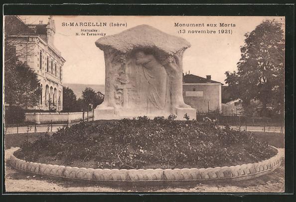 AK St-Marcellin, monument aux morts