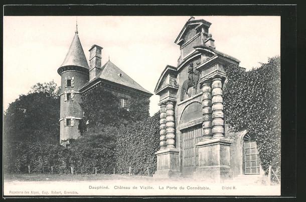 AK Vizille, Château de Vizille, la porte du Connétable