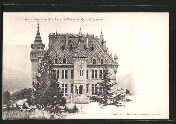 AK Sassenage, le château des côtes de Sassenage