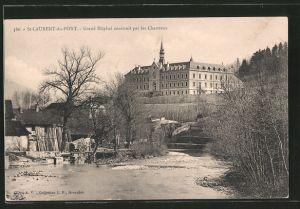 AK St-Laurent-du-Pont, grand hôpital construit par les Chartreux