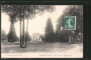 AK Bléneau, les Luneaux, vue du parc