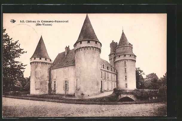 AK Coussac-Bonneval, château