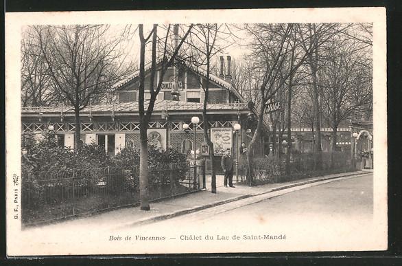 AK Vincennes, châlet du Lac de Sainte-Mandé