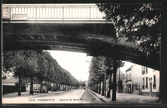 AK Pierrefitte, avenue de Saint-Denis
