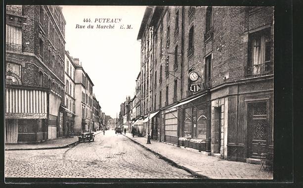 AK Puteaux, rue du Marché