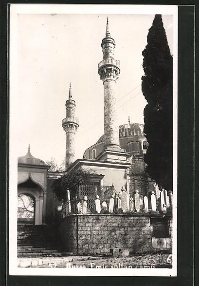 AK Constantinopel, Moschee