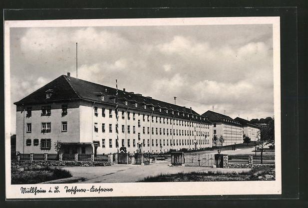 AK Müllheim, Teschner-Kaserne, Hauptwache