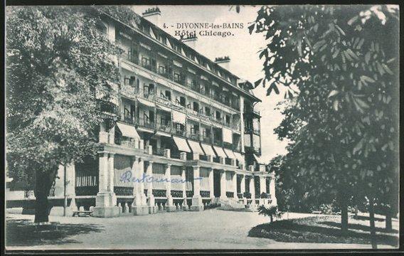 AK Divonne-les-Bains, Hôtel Chicago