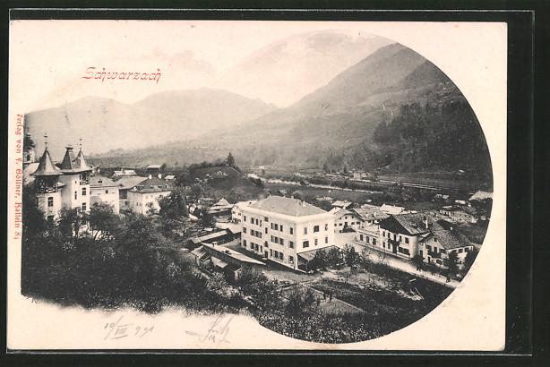 AK Schwarzach, Panoramaansicht