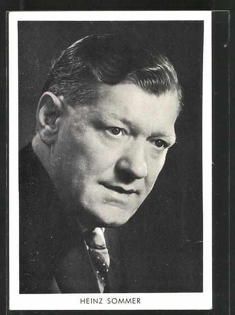 AK Portrait des Komponisten Heinz Sommer