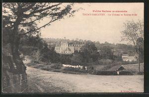AK Thury-Harcourt, le château et Tourne-Bride