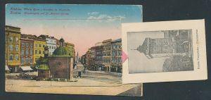 Leporello-AK Krakau-Krakow, Haupteingang und St. Adalbert-Kirche, Königsschloss, Tuchhalle, Florianertor