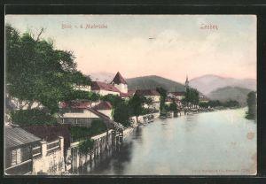 AK Leoben, Blick von der Murbrücke