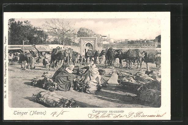 AK Tanger, Caravane reposante
