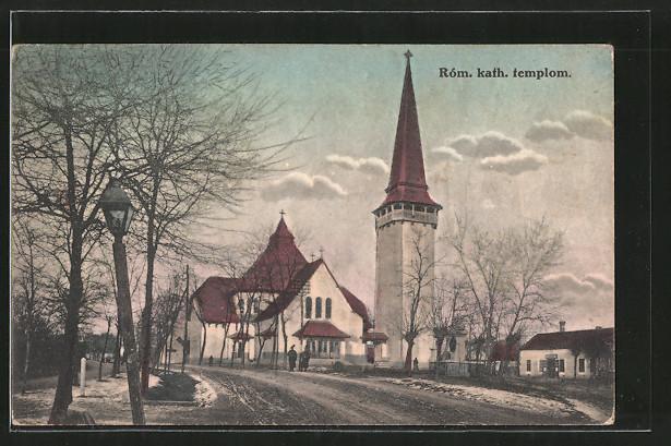 AK Gyula, Róm. kath. templom, Kath. Kirche