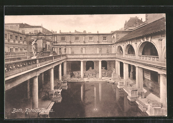 AK Bath, Roman Baths