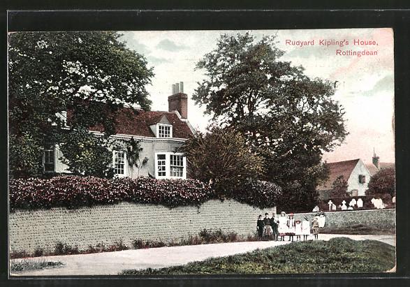 AK Rottingdean, Rudyard Kipling's House