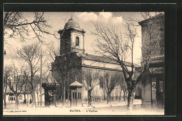 AK Batna, L'Eglise, an der Kirche